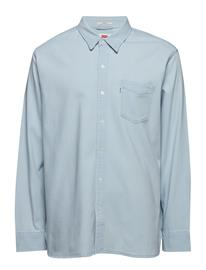 LEVI´S Men Sunset 1 Pocket Shirt Super Wh Sininen