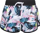 Soc J SUMMER BEACH SHO TROPICAL WH/BL