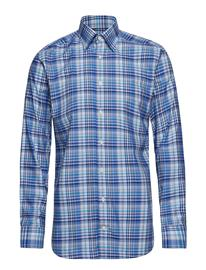 Eton Blue Bold Check Shirt Sininen