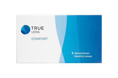 TrueLens Comfort Monthly, kuukausikäyttöiset piilolinssit 6 kpl