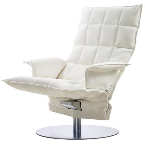 Woodnotes K, käsinojallinen pyörivä tuoli