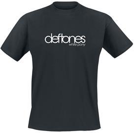 Deftones White Pony T-paita musta