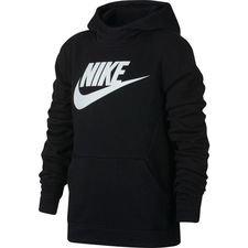 Nike Huppari NSW Club - Musta/Valkoinen Lapset