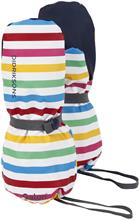 Didriksons Pileglove Rukkaset, Rainbow Simple Stripe 0 vuotta