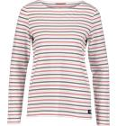 Race Marine W SEA LS BOATNECK NAVY/RED/STRIPED