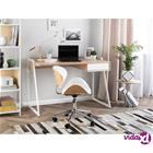Beliani Työpöytä valkoinen QUITO