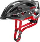 UVEX Active Pyöräilykypärä , punainen/musta