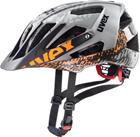 UVEX Quatro Pyöräilykypärä , harmaa/oranssi