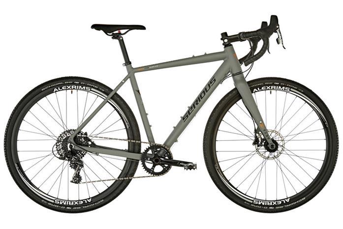 Serious Oroshi cyclocross-pyörä , musta