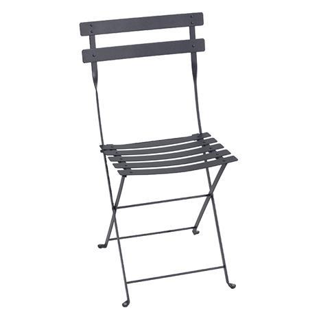 Fermob Bistro Metal Chair, Antracit