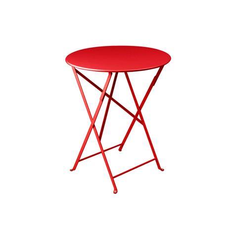 Fermob Bistro Pöytä ä˜60, Poppy Red, Muut huonekalut