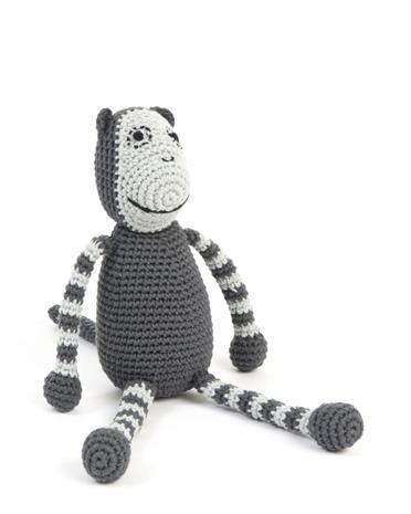 Smallstuff - Crochet Monkey - Grey (Maahantuoja)