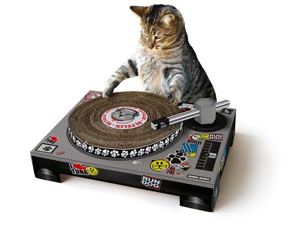 Raapimalauta - Cat Scratch Turntable