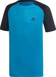 Adidas Boys Club C/B T-Paita Treenipaita, Blue 128