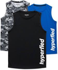 Hyperfied Bounce Topit, Black/Camo Black/Blue 150