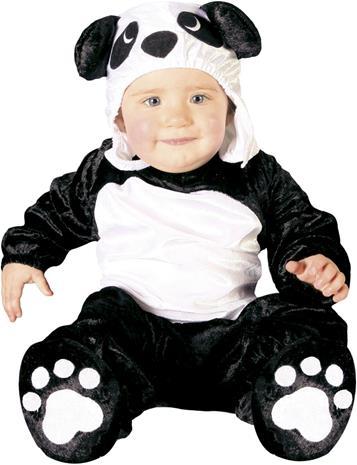 Fiestas Guirca Kostym Panda 12-24 Månader