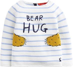 Tom Joule Paita, Blue Stripe Bear Hug 6-9 kk