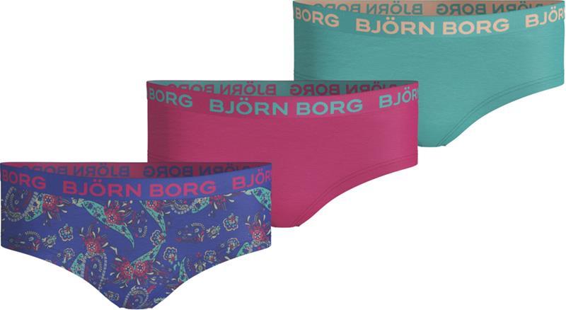 Björn Borg Alushousut 3-Pack, Dazzling Blue 134-140