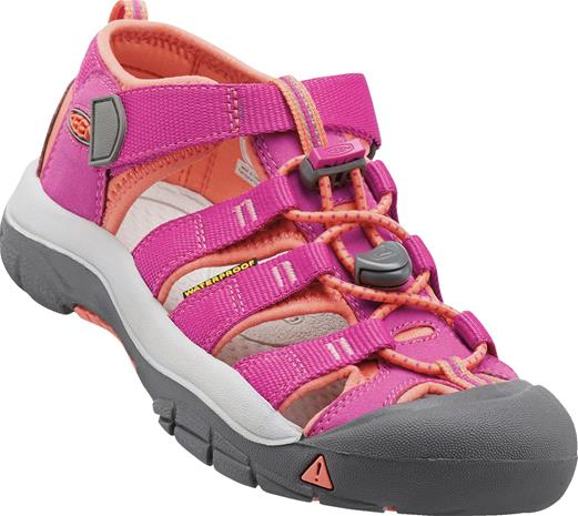 KEEN Newport H2 Little Kids Sandaalit, Very Berry/Fusion Coral 25-26