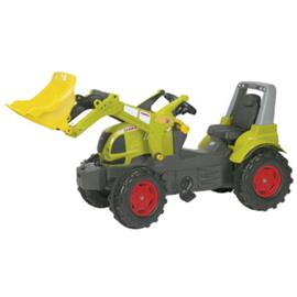 ROLLY®TOYS Rolly Traktori Claas Arion 640, mukana traktorin etukauha 710232