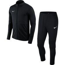 Nike Verryttelyasu Dry Park 18 - Musta/Valkoinen