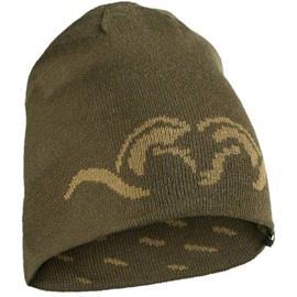 "Blaser Reversible Knitted Cap ""Argali"" Green-Khaki"