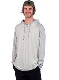 Quiksilver Zerospective Hoodie light grey heather Miehet