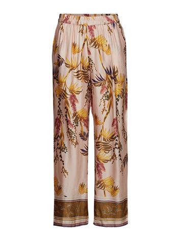 Cream Monique Pants - Long Vaaleanpunainen