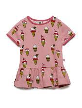 Smä¥folk T-Shirt Ss. Icecream Vaaleanpunainen