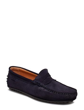 Marstrand Driving Loafer Sde Sininen