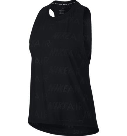 Nike W NK TANK AIR BLACK/WHITE
