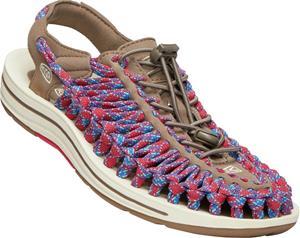 Keen Uneek Flat Miehet sandaalit , punainen/sininen