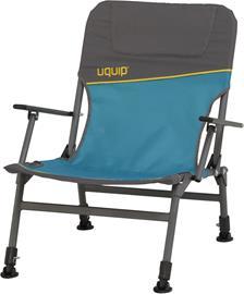 Uquip Lofty retki-istuin , harmaa/petrooli