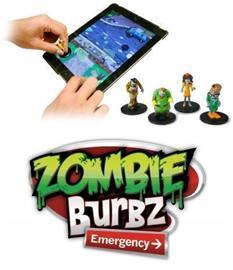 Zombie Burbz Emergency, mobiilipeli + hahmot