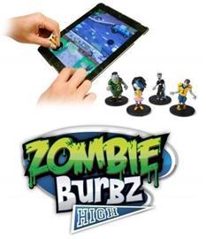 Zombie Burbz High, mobiilipeli + hahmot