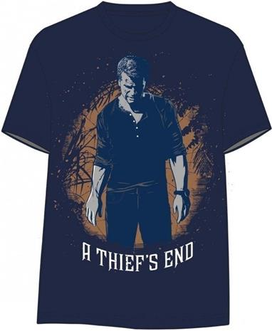 Uncharted 4 Thiefs End Drakes Figure T-paita koko L (Varasto Vantaa)
