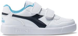 Diadora Playground PS Tennarit, White/Blue Denim 30