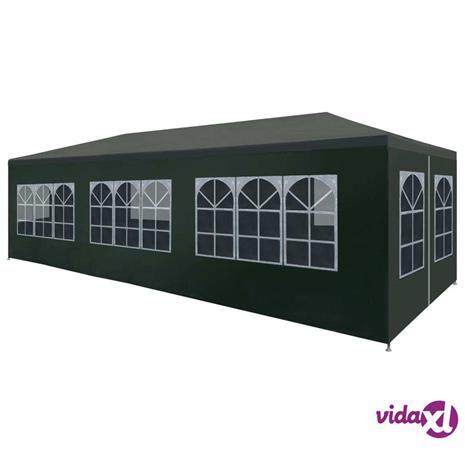 vidaXL Juhlateltta 3x9 m vihreä