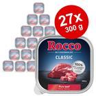 Säästöpakkaus: Rocco Classic -rasiat 27 x 300 g - naudaliha
