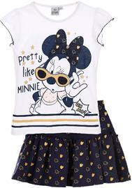 Disney Minni Hiiri T-Paita & Hame, Valkoinen 6 vuotta
