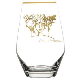 Carolina Gynning Slice Of Life Drinking Glass, Gold