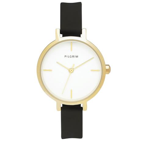 Pilgrim Christie Watch, Gold/Black