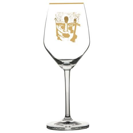 Carolina Gynning Golden Dream Rosä©/White Wine Glass, Gold