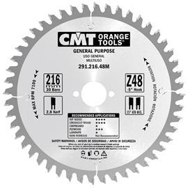 Katkaisuterä puulle CMT 291.230.36M; d=230 mm