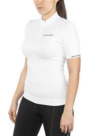 X-Bionic Biking Ae Lady Race Ow Shirt Sh_Sl. Naiset Pyöräilypaita lyhythihainen , valkoinen