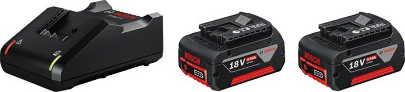 Bosch Aloituspaketti GBA 18V (1600A019S0) 18V 2x4,0Ah + GAL 18V-40 Professional