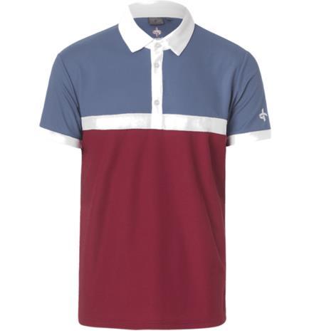 Cross Sportswear M PUNCH POLO RUMBA RED