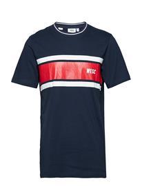 WeSC Max Chest Stripes Sininen