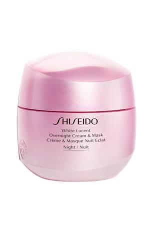 "Shiseido ""White Lucent Overnight Cream & Mask 75 ml"""