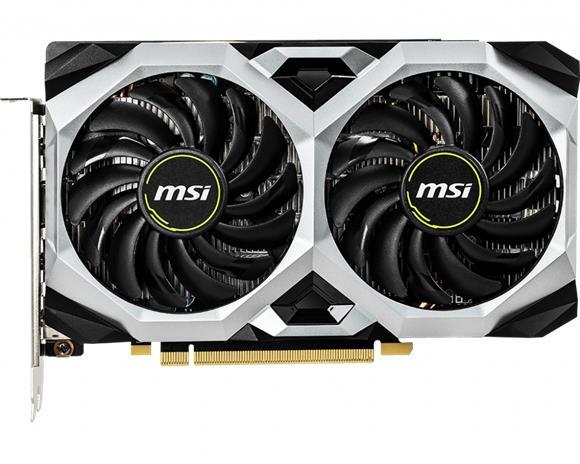 MSI GeForce GTX 1660 Ventus XS OC 6 GB, PCI-E, näytönohjain
